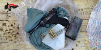arresto zungri arma clandestina