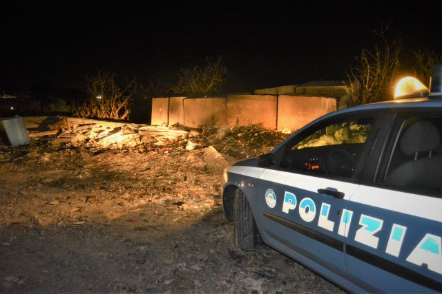 combustione illecita, Polizia
