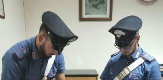pistola Botricello, Carabinieri Catanzaro
