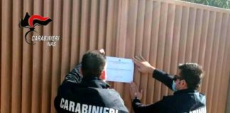 Carabinieri Nas Reggio Calabria