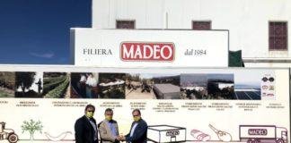 Coldiretti, al centro Madeo e Aceto con il management aziendale
