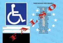 Lamezia Terme pass per disabili falso