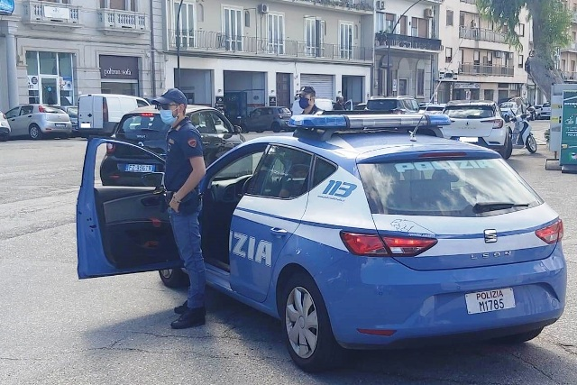 Polizia Reggio Calabria, volante