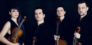 Quartetto d'Archi Mirus, concerto Catanzaro