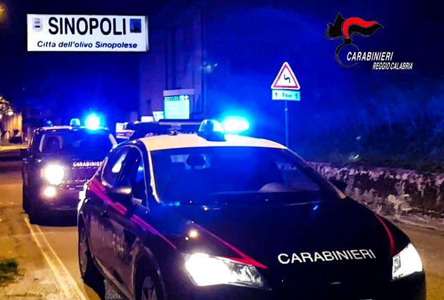 SINOPOLI, Carabinieri Reggio Calabria