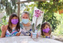 Unicef festa dei nonni, orchidea sospesa