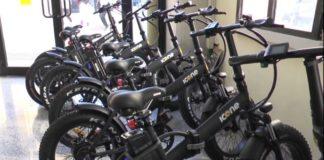 Catanzaro, bici elettriche