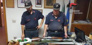 caccia, Lamezia Terme Carabinieri tutela forestale