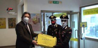 Ufficio Postale Pizzo, Consegna 60 mila euro, Carabinieri