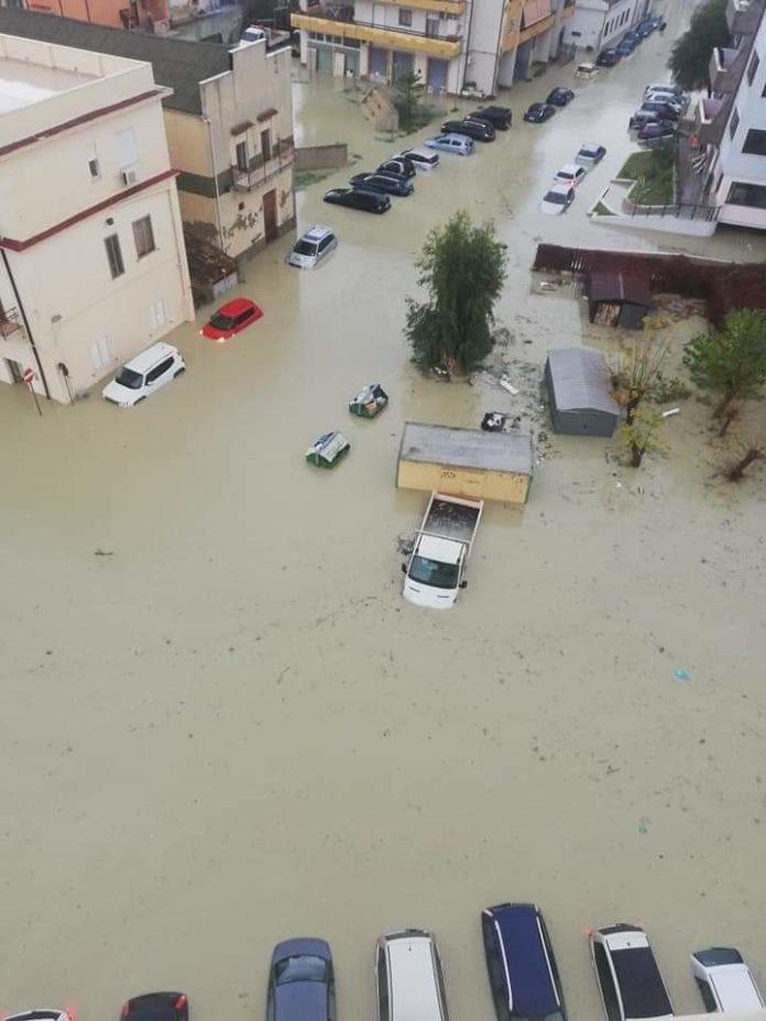 chiesto stato emergenza, Nubifragio Crotone