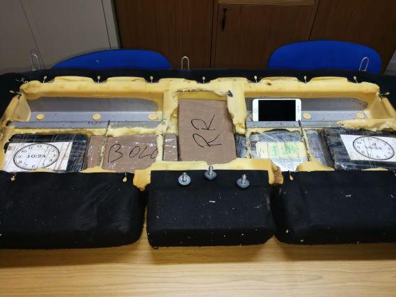 Villa San Giovvanni, arresto 5 kg cocaina
