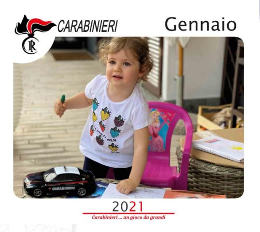 Carabinieri, presentato il Calendario Storico 2021 dell'Arma