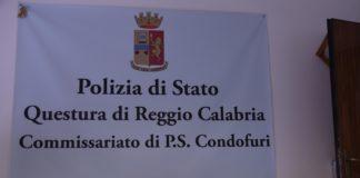 arresto per spaccio, Questura di Reggio Calabria, foto Condofuri
