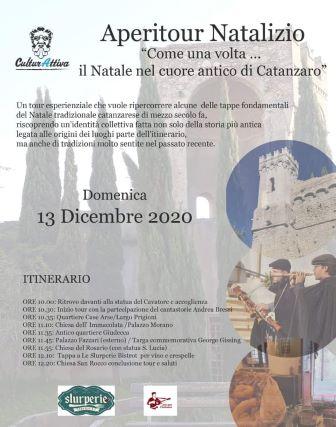 Aperitour natalizio Catanzaro, Culturattiva