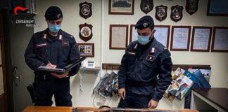 armi clandestine, Carabinieri Reggio Calabria
