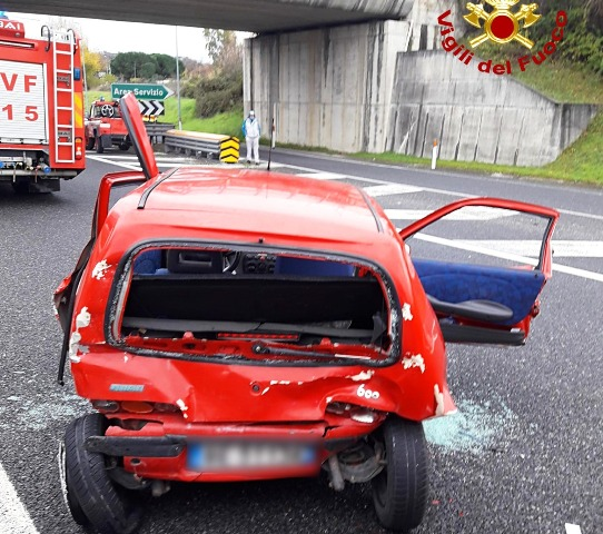 incidente stradale a2