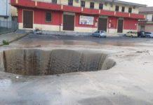 voragine Isola Capo Rizzuto, alluvione