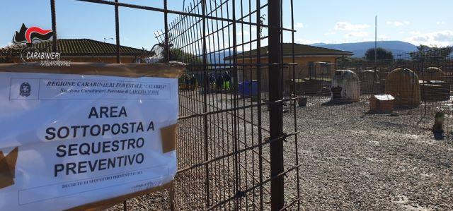Canile Lamezia sequestrato, Carabinieri Lamezia Terme