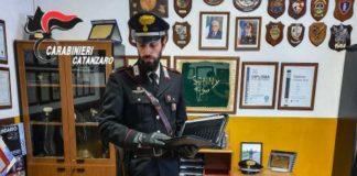 Carabinieri Catanzaro, Pos rubati ritrovati