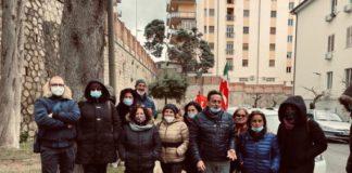 Lavoratori Sant'Anna mobilitati davanti all'Asp di Catanzaro
