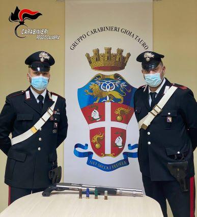 Rosarno, Carabinieri Reggio Calabria, arresto per possesso arma clandestina