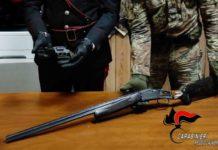 San Procopio, rinvenute pistola lanciarazzi e fucile, Carabinieri Reggio Calabria