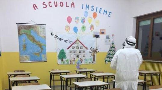 Scuola infanzia, Covid, sanificazione