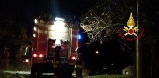 incendio auto Tiriolo, Vigili del Fuoco Catanzaro