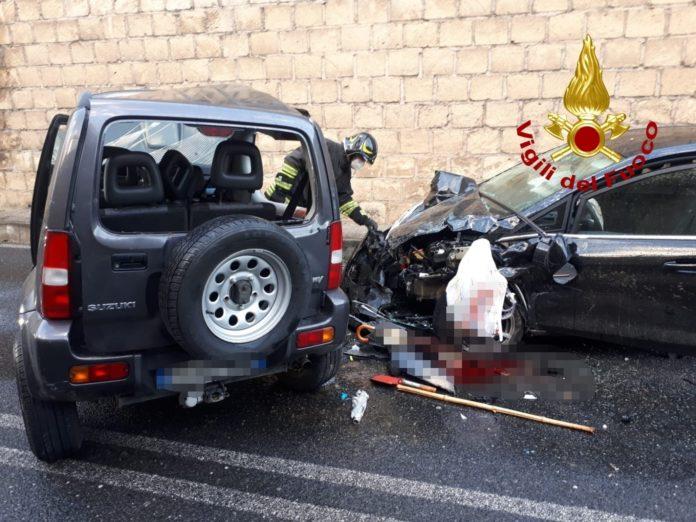 incidente Viale De Filippis, Vigili del Fuoco