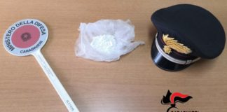 50 grammi di cocaina, sequestro e arresto, Carabinieri Catanzaro