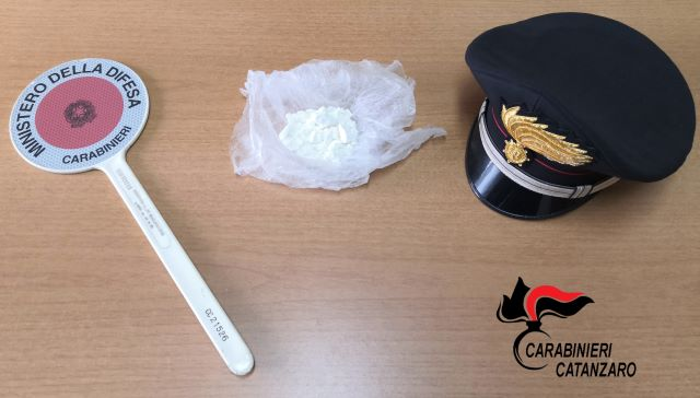 50 grammi di cocaina, sequestro e arresto, Carabinieri Catanzaro