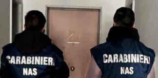Carabinieri Nas sequestro Casa di Riposo Reggio Calabria