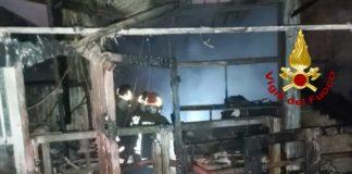 Incendio Chiaravalle Centrale, Vigili del Fuoco