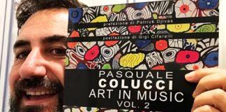 Pasquale Colucci Art in Music Vol 2, libro, copertina libro