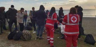 Sbarco migranti, Bovalino, Reggio Calabria