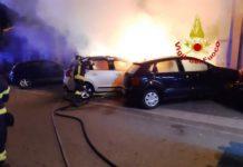 incendio autovetture