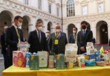 Coldiretti solidarietà agroalimentare a Palazzo Chigi
