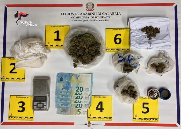 Controlli Soverato, arresto per stupefacenti