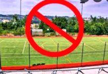 divieto gioco calcio