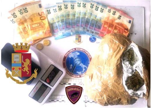 Questura Catanzaro, arresto per droga