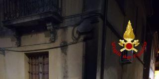incendio cassonetti Catanzaro Lido