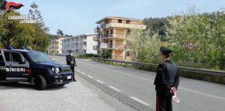 Arresto Falerna, Carabinieri Catanzaro