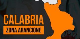 Calabria zona arancione