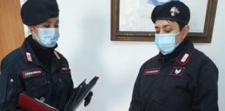 Carabinieri Catanzaro, arresto per tentata rapina