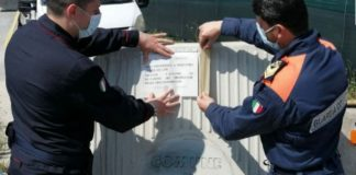 Carabinieri Reggio Calabria sequestro area