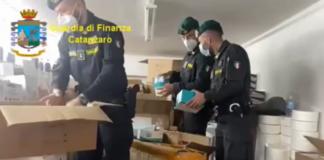 Lamezia Terme, laboratorio clandestino mascherine, Guardia di Finanza