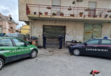 Officina abusiva Lamezia Terme, Carabinieri Catanzaro