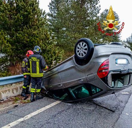 San Giovanni in Fiore incidente stradale
