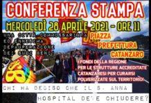 Sant'Anna Hospital, manifestazione dipendenti