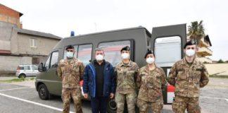 Vaccini anti-Covid supporto esercito